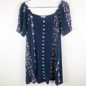 Altar'd State embroidered dress size: S